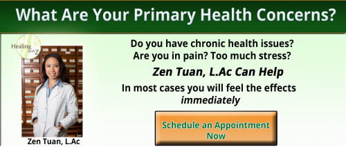 Zen Tuan Acupuncturist and Herbalist serving Pasadena, South Pasadena, San Marino, Arcadia, Altadena, and San Gabriel Valley