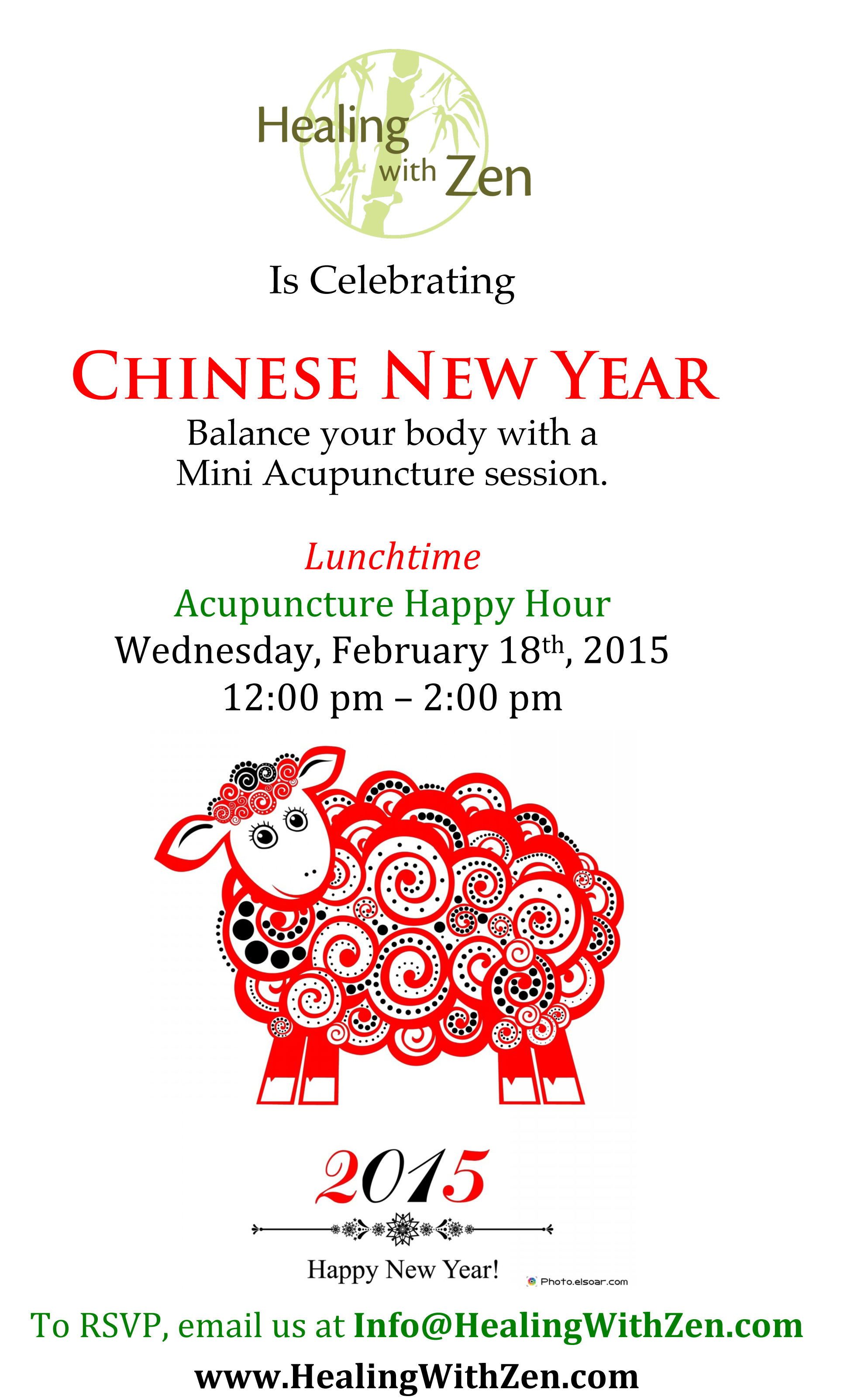 Chinese New Year Celebration - Healing with Zen