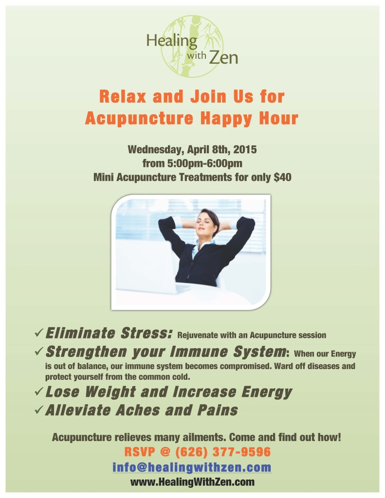 Zen Tuan, Licensed Acupuncturist serving Pasadena, Altadena, San Marino, Arcadia and the San Gabriel Valley