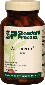 Allerplex by Standard Process Available at Healing with Zen Pasadena for Natural Allergy Relief
