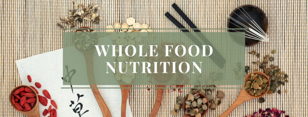 Whole Food Nutrition, Herbal Remedies, Acupuncture, Healing with Zen
